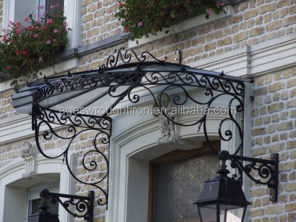 made in china Wrought iron awning iron canopy