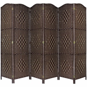 Folding Wall Screens Art Bookcase Furniture Bamboo Room Dividers