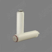 "10"" Pleated pp Membrane Filter Cartridge 30 micron Water Filter"