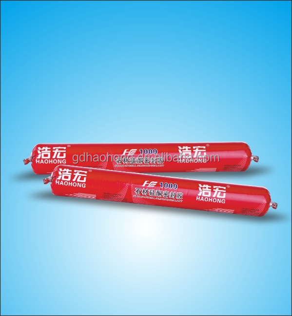 Haohong HH-1000 590ml marble silicone sealant,electronical silicone sealant,silicone sealant for concrete joints