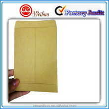 2016 New products Customized brown kraft paper envelopes with free designing