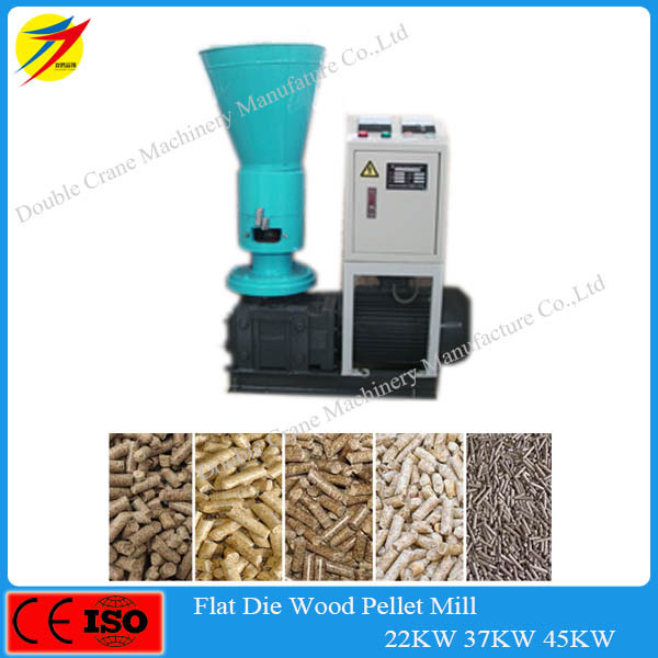 small Flat-die efp/palm wood pellet machine with CE hot sale in malaysia