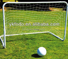 factory foldable aluminum soccer football goal with net in jinhua yiwu FD802B