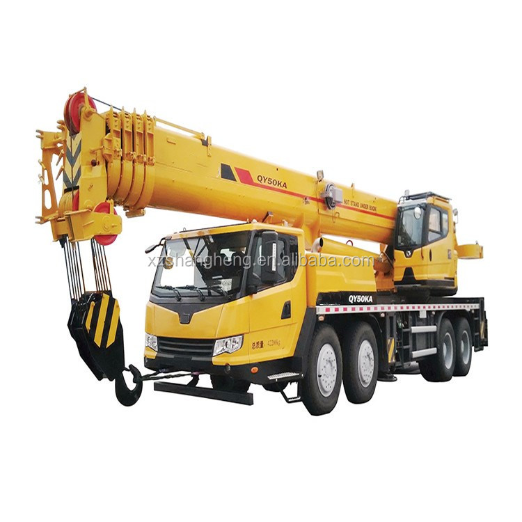 50 Ton Mobile Crane QY50KA Crane Truck For Sale