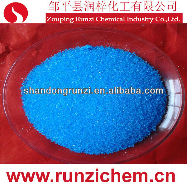 CAS: 7758-99-8 CuSO4 Blue Color of Copper Sulfate