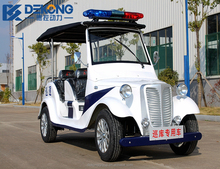 New energy battery powered 6 passenger electric utility vehicle