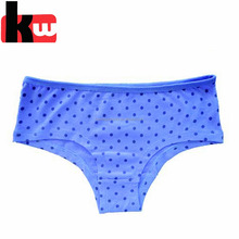 Wholesale 5PK Lovely Black Dot Print Cotton Young Underwear Girls Panty Photos