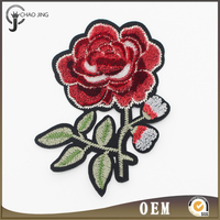 2017 New Products 3d Embroidery Patch