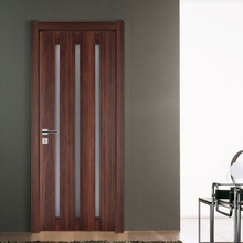 Safty modern design bedroom single Wooden Solid Core Door