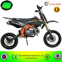 Pit bike 150cc pit bike dirt bike CRF70 style, with Lifan engine, up-side-down front forks and alluminium rims