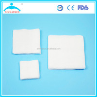 OEM medical sterile absorbent gauze dressing typical cotton fiber product