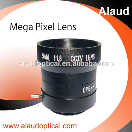 AN5018 50mm F1.8mm glass C mount cctv lens