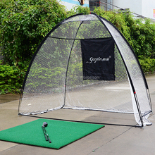 Hot sale golf practice training driving hitting net/golf net cage