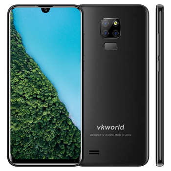 Do your own Cellphone VKWORLD SD200 Smartphone Waterdrop Smartphone 3G+32G phone  4G Android 9.0 3200mAh Mobile phone  dual SIM
