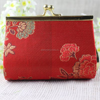 2016 New Luxury Flower Wedding Candy Packing Box in Red