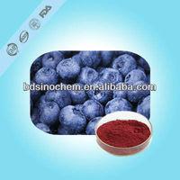 bilberry extract/ Vaccinium Macrocarpon P.E. / antioxidants / blue berry extract