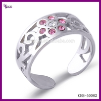 Wholesale Fashion 925 Sterling Silver Ring Jewelry Simple Finger Ring