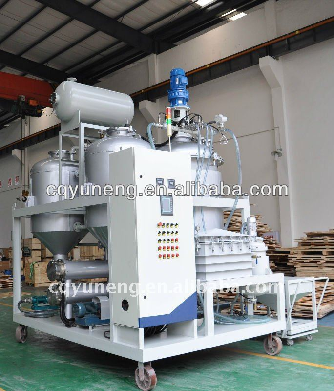 YNZSY series Black engine oil regeneration purifier / motor oil recycling machine / Cars oil filtering plant