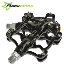 "2014 New RockBros 9/16"" Aluminium Outdoor Sports BMX MTB Mountain Fixie Bike Bicycle Parts Cycling Cycle Platform Pedals,6Color"