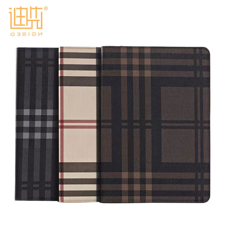 Fashion and simple styles leather material 9.7 inch unique tablet case cover For Ipad Air