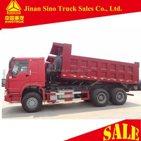 SINOTRUK HOWO ZZ3257N3447A Left hand drive 336HP 6x4 dump truck for sale in Ethiopia