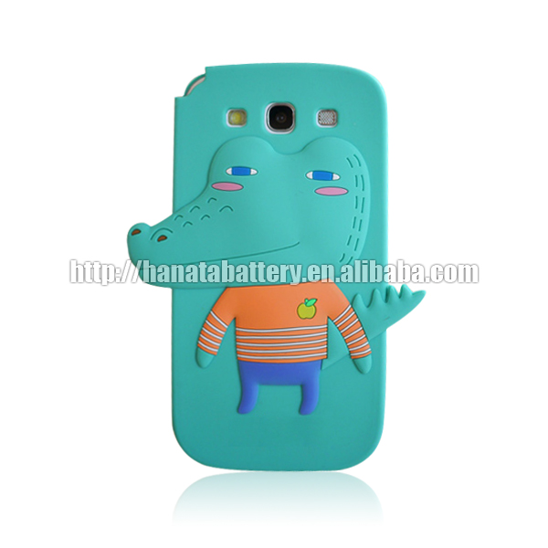 [HANATA] Cute Animal Silicon Case for Samsung Galaxy S3