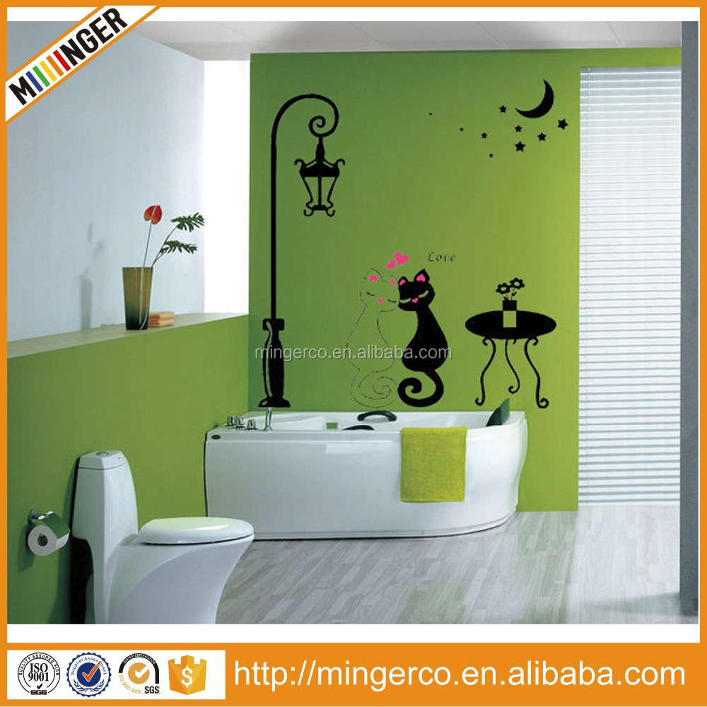 Fashion decoration large colored wall sticker paper