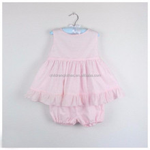 Latest Children Dress Designs Girls Baby Clothes Sets Baby Cotton Party Suits