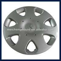 Injection Plastic Auto Parts Plastic Car Wheel Cover