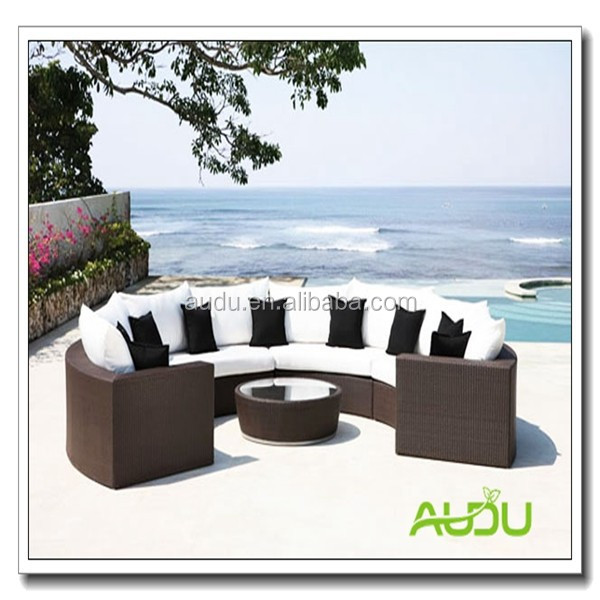 Aluminium Round Rattan Garden Furniture/Tarrington House Garden Furniture
