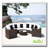 Aluminium Round Rattan Garden Furniture Tarrington