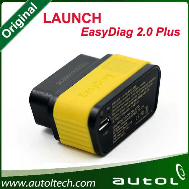 100% Original Launch X431 EasyDiag 2 0 For Android/iOS 2 in 1 Diagnostic Tool Easy diag Update Via Launch Website in Stock Now