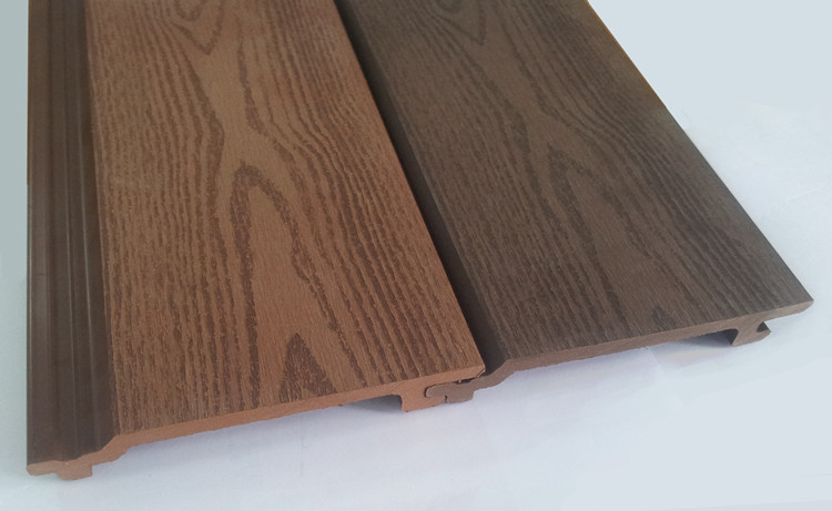 Wood Look Wall Panels Wood Plastic Composite Wall Cladding Facade ...