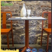 Amywell high quality 1400 density Formica hpl no scratch dining table