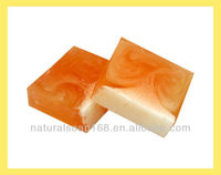 Orange handmade soap,fruity soap