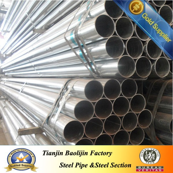 Different specifications galvanized Steel Pipe construction use
