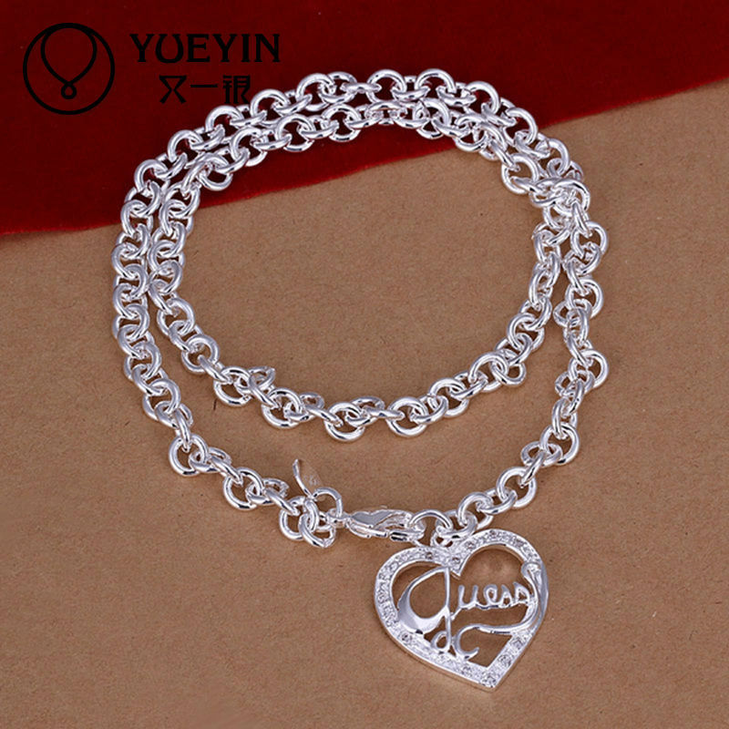 Hot sale heart indian jewelry for necklace