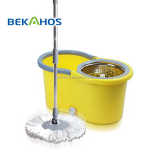 Bekahos hot sale Super clean product Microfiber Twist Mop with Spin Bucket