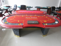 casino luxury 10 person electronic poker table texas holdem