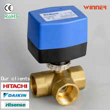 2014 new products motorized ball valve company
