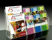 Modern Clear Acrylic Magazine Holder,business display,acryliy holder