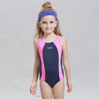 2016 new race competition one piece kids swimwear for gilrs