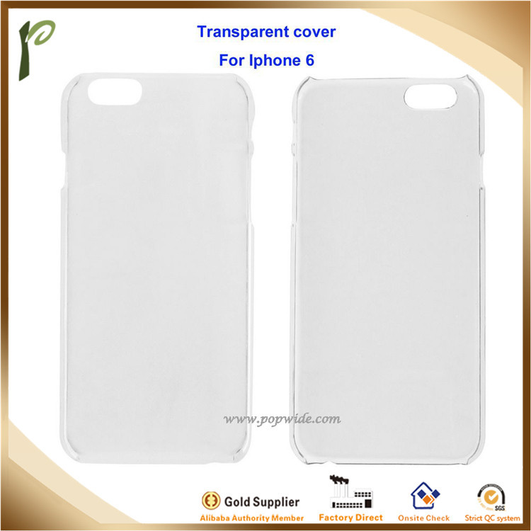 Popwide 2017 new design for hot cellphones like Iphone MP 020, simple style transparent hard phone cases