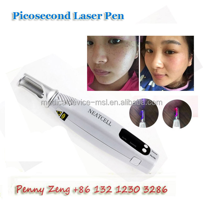 Cheapest price for Blue Light/ Red Light Picosecond laser removal pen for melanin removal, dark spot removal - MSLPL03