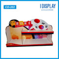 Modern design merchandise Cardboard display case