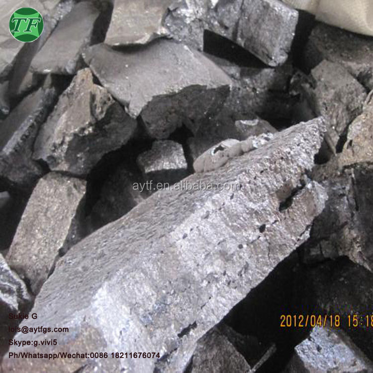 Raw Material Deoxidizer SiCa, Calcium Silicon alloy lump price