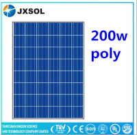 Cheap photovoltaic 60 cells 200w poly solar module portable pv panels