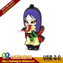 Kids Gift USB Pendrive 4GB Promotional Cartoon USB Flash Drive