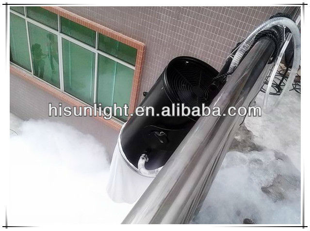 2013 very good effect Hanging type Foam Machine/ Stage Special Effect Snow Maker for party,disco