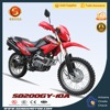 Hot New Seat Design Dirt Bike 200CC for Sale Made In China NXR 125 BROS SD200GY-10A